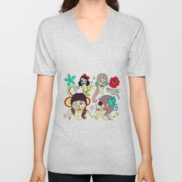 Sailor Jerry Zombies Unisex V-Neck