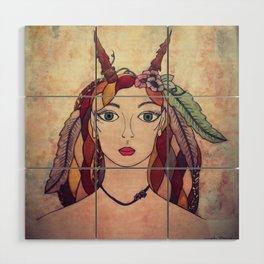 Lady of the Wood Wood Wall Art