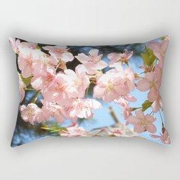 Pink Cherry Blossoms 2 Rectangular Pillow