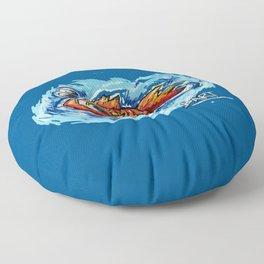 Fishy Floor Pillow