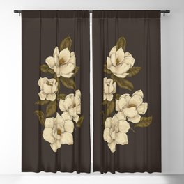 Magnolias Blackout Curtain