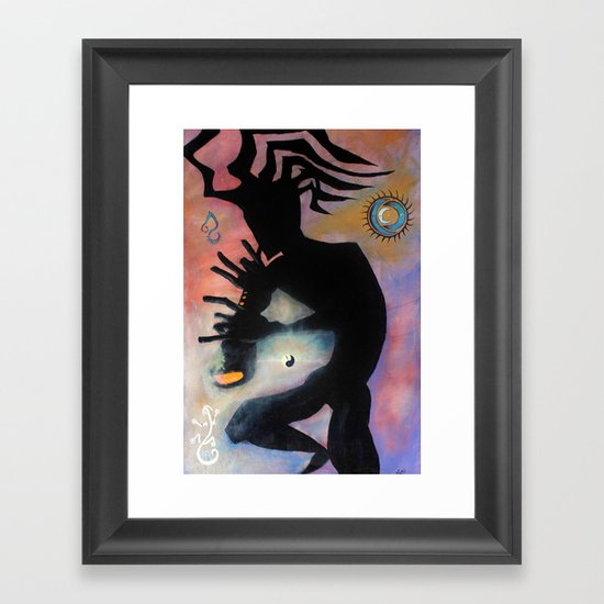 kokopelli Framed Art Print
