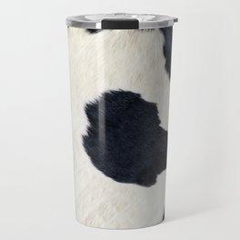 Black and White Cowhide Photography Travel Mug