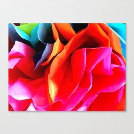 Paper Flower Canvas Print