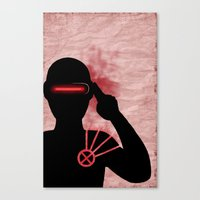 cyclops Canvas Prints featuring Cyclops by Sprite