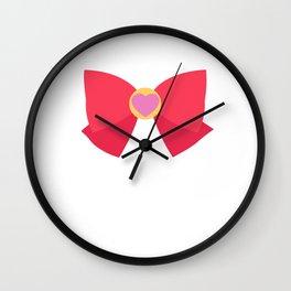 Sailor Chibi Moon Bow Wall Clock