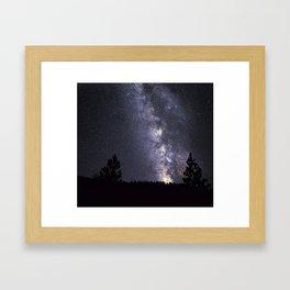 Cascade Galaxy Framed Art Print