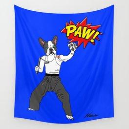 PAW POW - Kungfu Dog Wall Tapestry