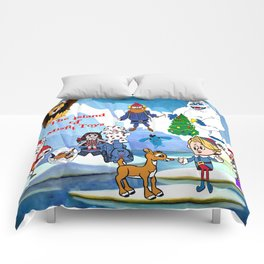 Island of Misfit Toys Comforters