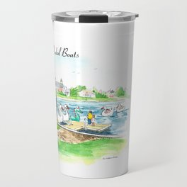 Swan Boats Travel Mug