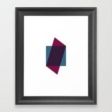 #164 Tip of the iceberg – Geometry Daily Framed Art Print