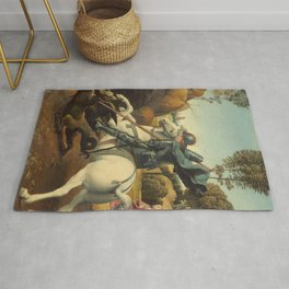 Saint George and the Dragon Rug