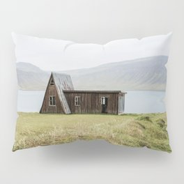 House in front of the lake Pillow Sham