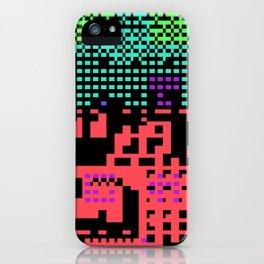 cityscape 07A ZX (C64 Re-remix) (2011) iPhone Case
