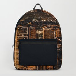 Somewhere in China – City by night Backpack