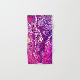 Candyland Acrylic Pour Hand & Bath Towel