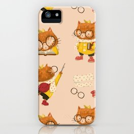 Buttons in Autumn iPhone Case