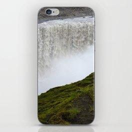 Noisy waterfall iPhone Skin
