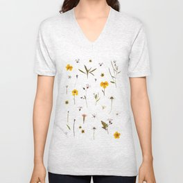 Wild flower meadow Unisex V-Neck