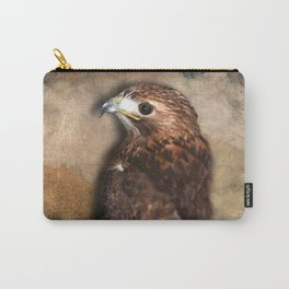 Peregrine Falcon Profile Carry-All Pouch