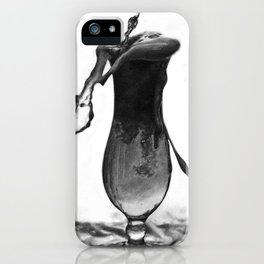 A glass of beer drawing iPhone Case