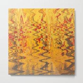 magic waves Metal Print