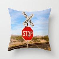megan lara Throw Pillows featuring Megan by ChristyVegas