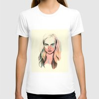 cara T-shirts featuring Cara by Beth Zimmerman Illustration