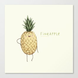 Fineapple Canvas Print