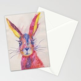 Ink Animals of Africa - Paisley Rabbit Stationery Cards