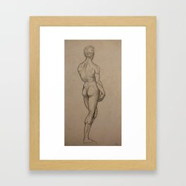 The David Framed Art Print