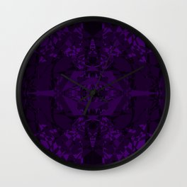 Purple Room Wall Clock
