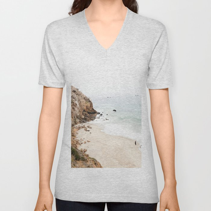 Malibu California Beach Unisex V-Neck