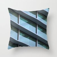 architecture Throw Pillows featuring Architecture by Alex Dodds