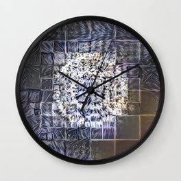 (Was) Green Mold Mandala 4 Wall Clock