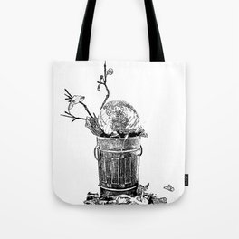 The World Has Been Trashed Tote Bag