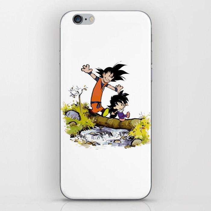 Goku and Gohan iPhone Skin