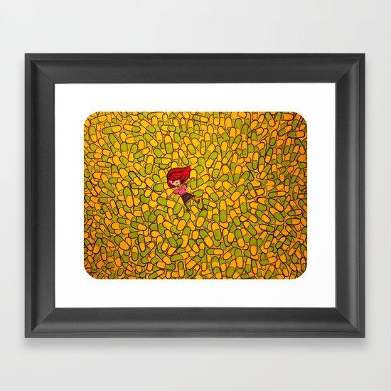 """Floating Upon the Pharma-Sea"" Framed Art Print"
