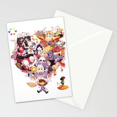 Undertale heart Stationery Cards