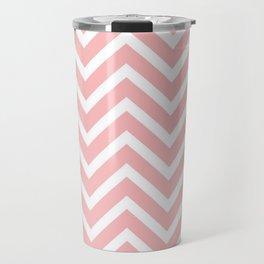 Pink zigzag design Travel Mug