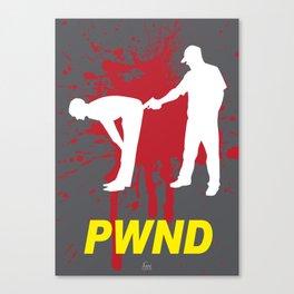 PWND Canvas Print