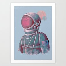 Terran Art Print