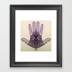 Hand Of Happiness  Framed Art Print