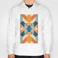 sacred geometry Hoodies featuring Sacred Geometry by defyeyes