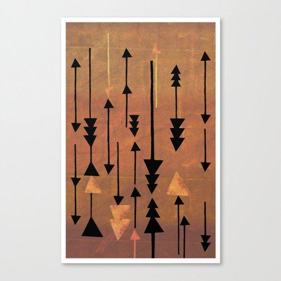 Decker Canyon Canvas Print