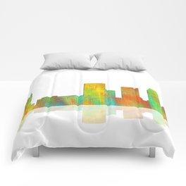 Tulsa Skyline Comforters