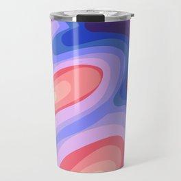 Psychedelic Rainbow 1 Travel Mug