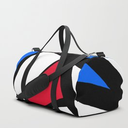 Red, Yellow, Blue Primary Abstract Duffle Bag