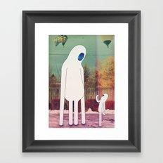 2_tizi Framed Art Print