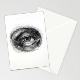 Eye study sketch 1 Stationery Cards